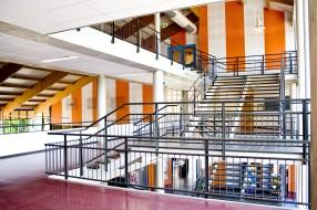 Stedelijk Zutphen aula trappenhuis